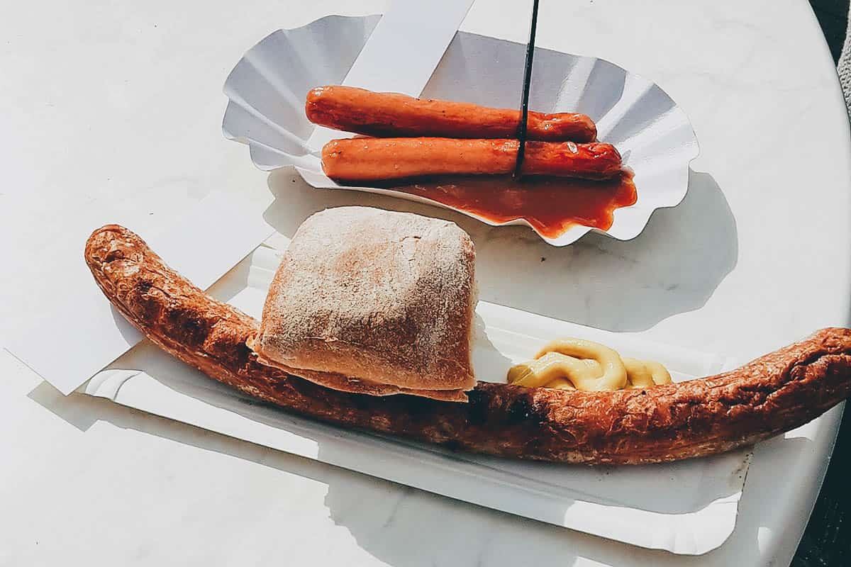 GERMANY: The German Bratwurst – A Typical German Dish