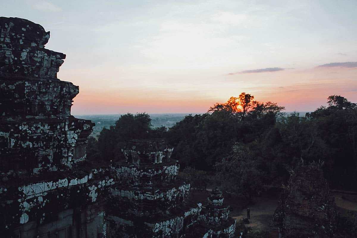 Sunset at Phnom Bakheng