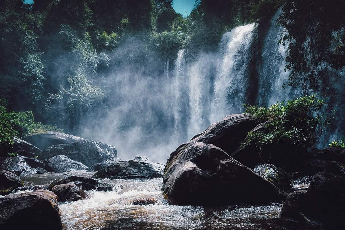 Waterfalls at Phnom Kulen