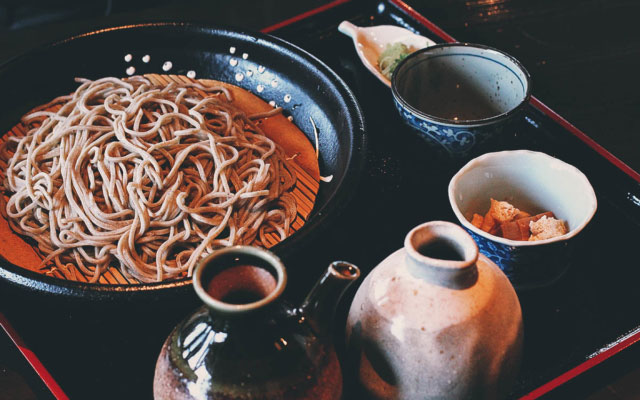 Iromomiji: Where to Have Soba in Kurokawa Onsen, Japan