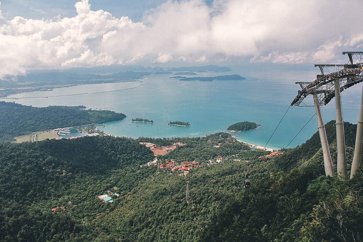 Langkawi Cable Car, Malaysia
