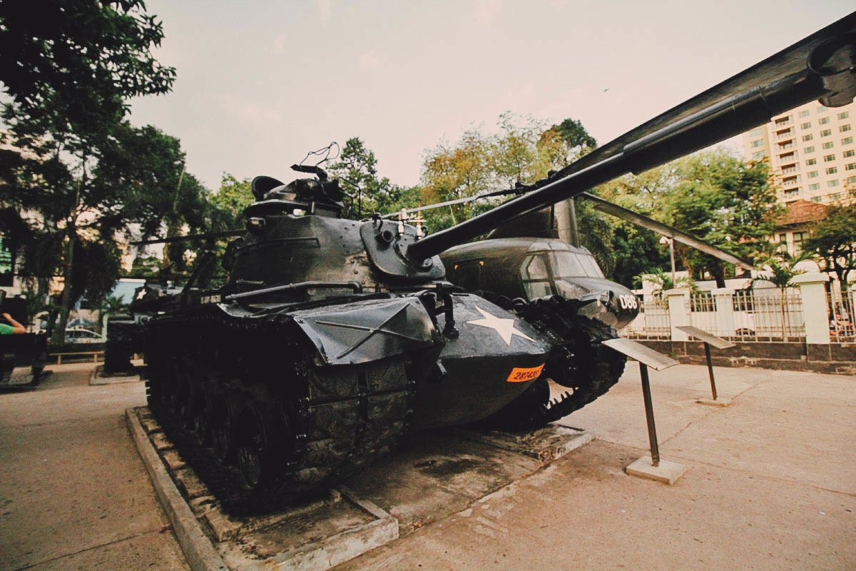 War Remnants Museum, Ho Chi Minh City (Saigon), Vietnam