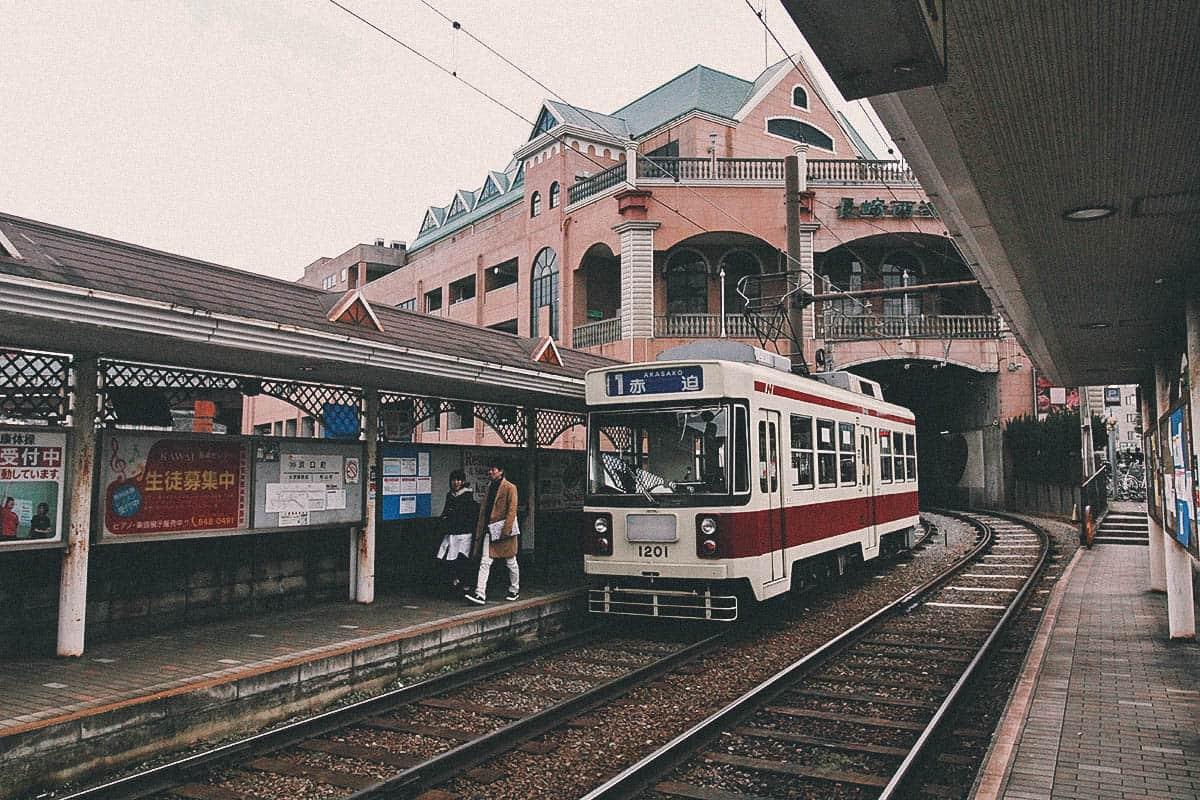 Nagasaki Tram, Japan
