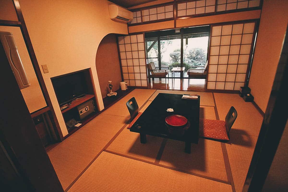 Senomotokan Yumerindo, Kurokawa Onsen, Kumamoto, Japan
