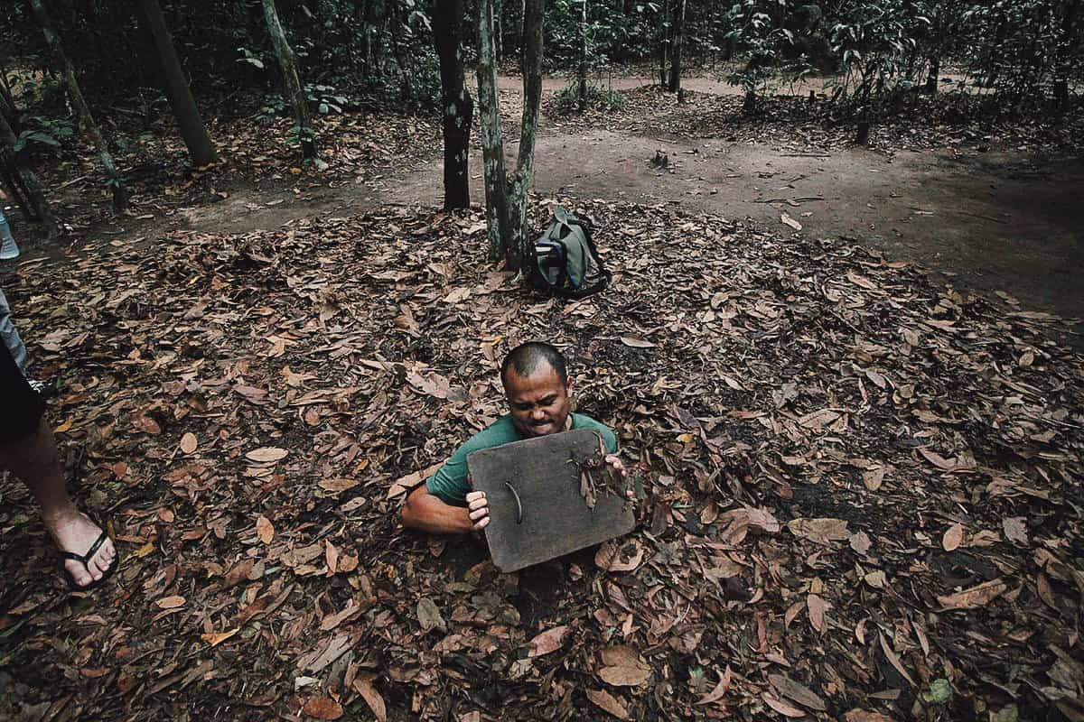 Cu Chi Tunnels: Crawling through Two Decades of War in Ho Chi Minh City, Vietnam