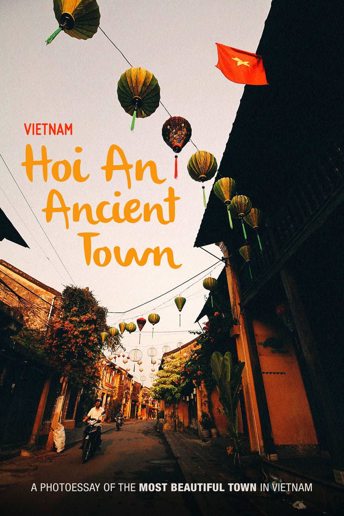 Hoi An Ancient Town at sunrise