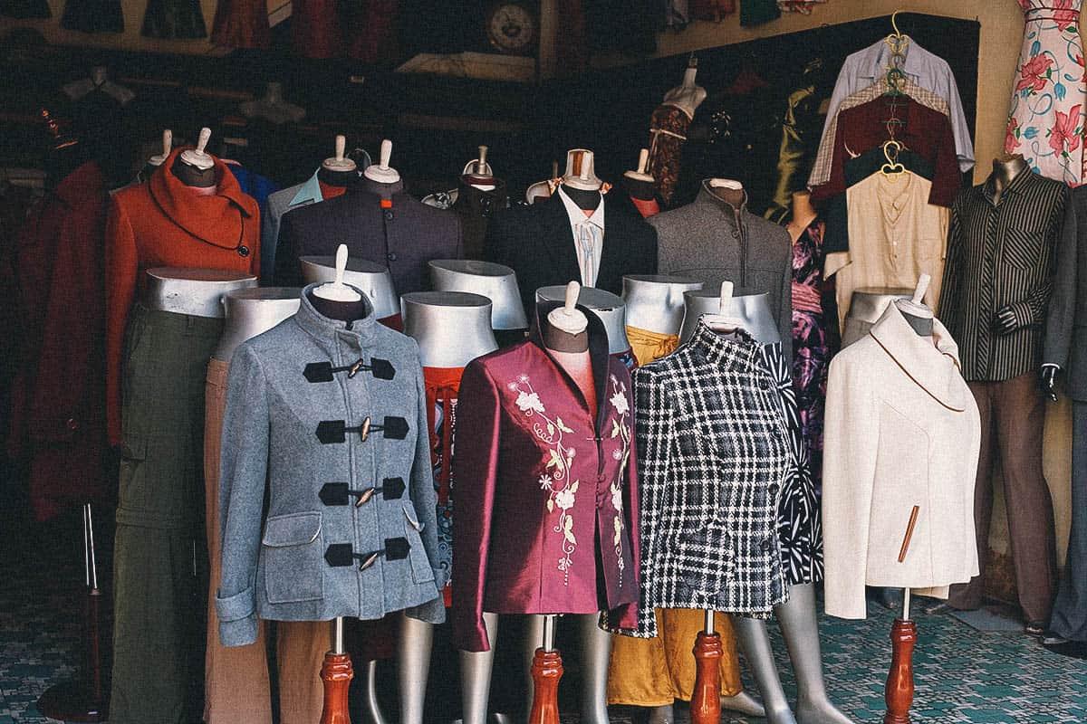 Custom Tailoring, Hoi An, Vietnam