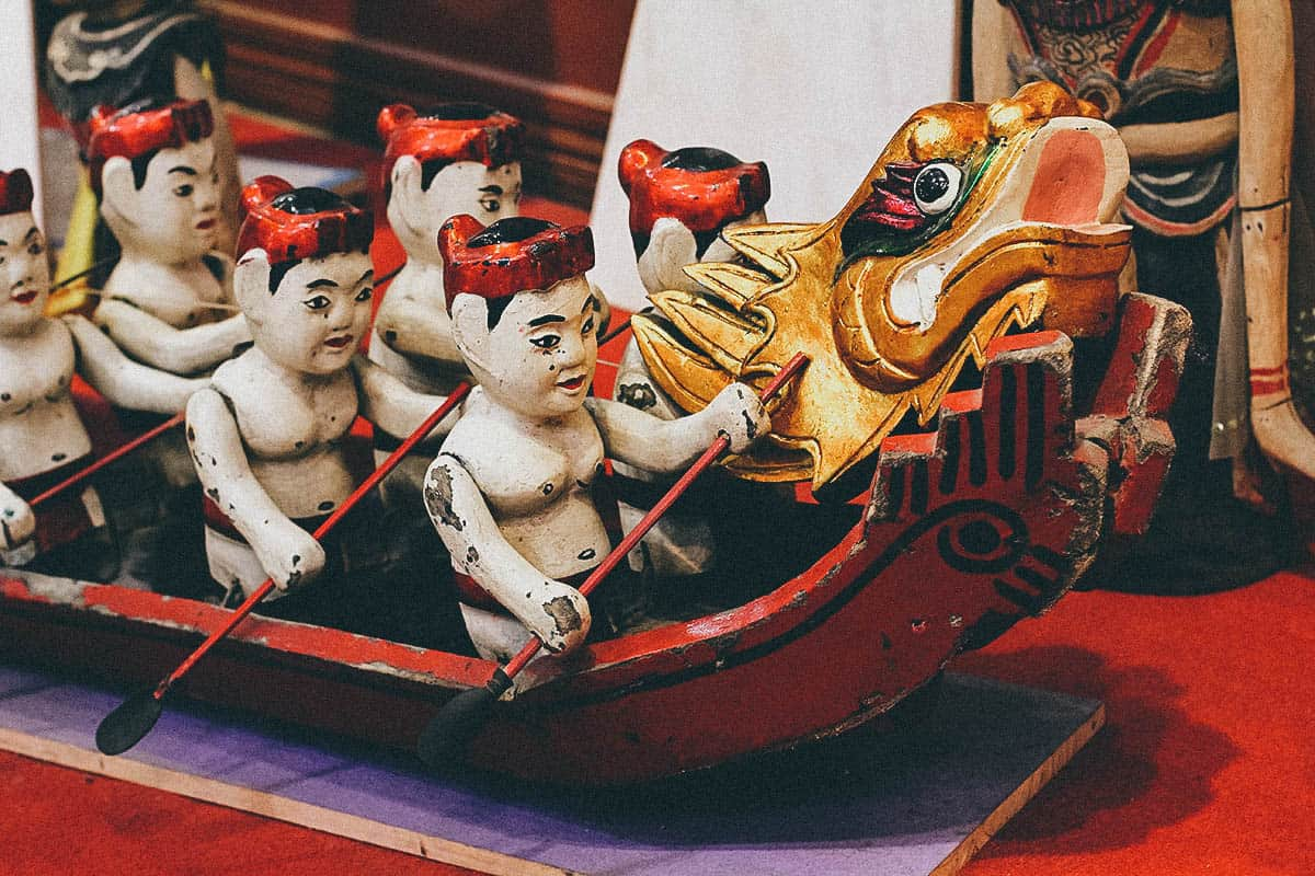 Thang Long Water Puppet Theater, Hanoi, Vietnam
