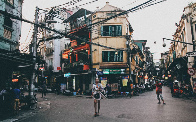 Take a Stroll in and around Hanoi's Old Quarter in Vietnam