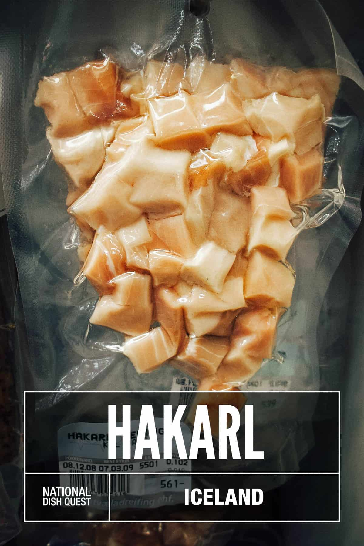 Pack of hakarl