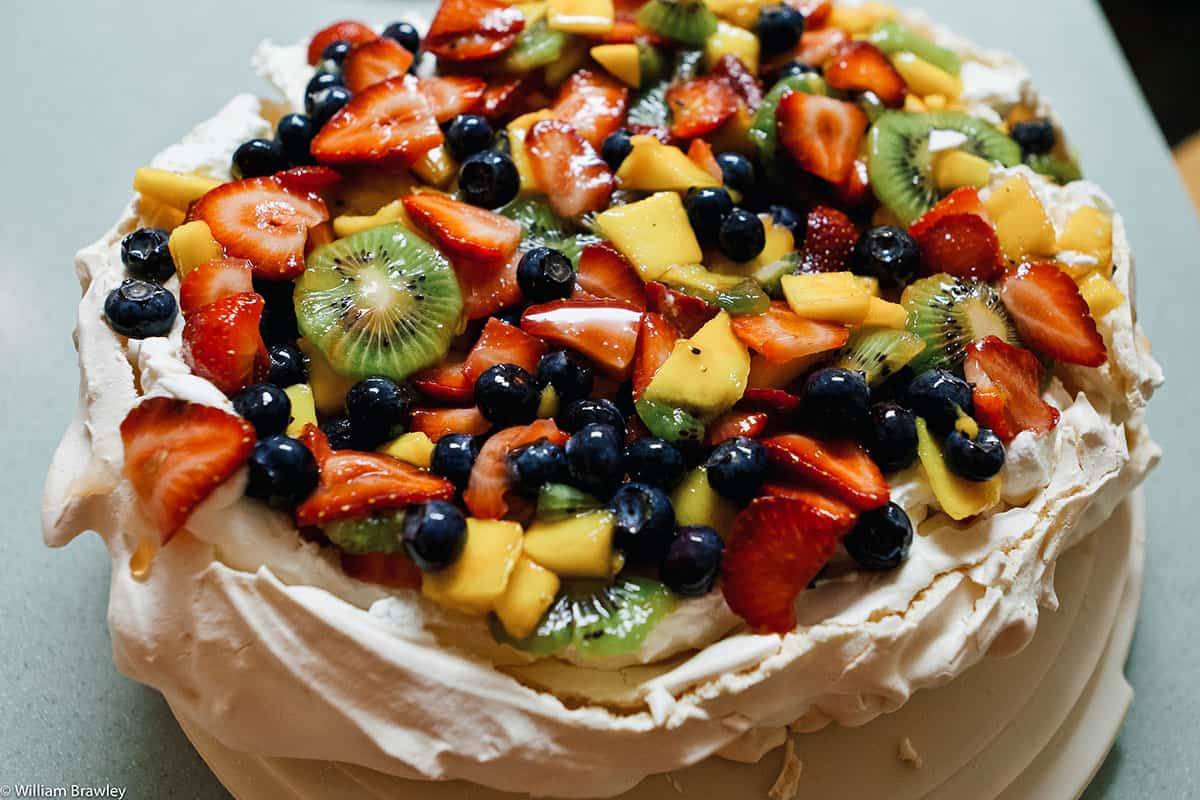NEW ZEALAND: Pavlova, Quintessentially Kiwi (Recipe)