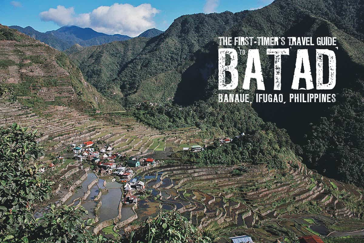 The First-Timer's Travel Guide to Batad Rice Terraces, Banaue, Ifugao, Philippines