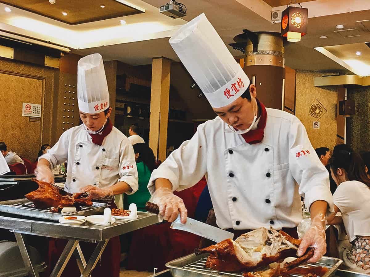 NATIONAL DISH QUEST:  Peking Duck