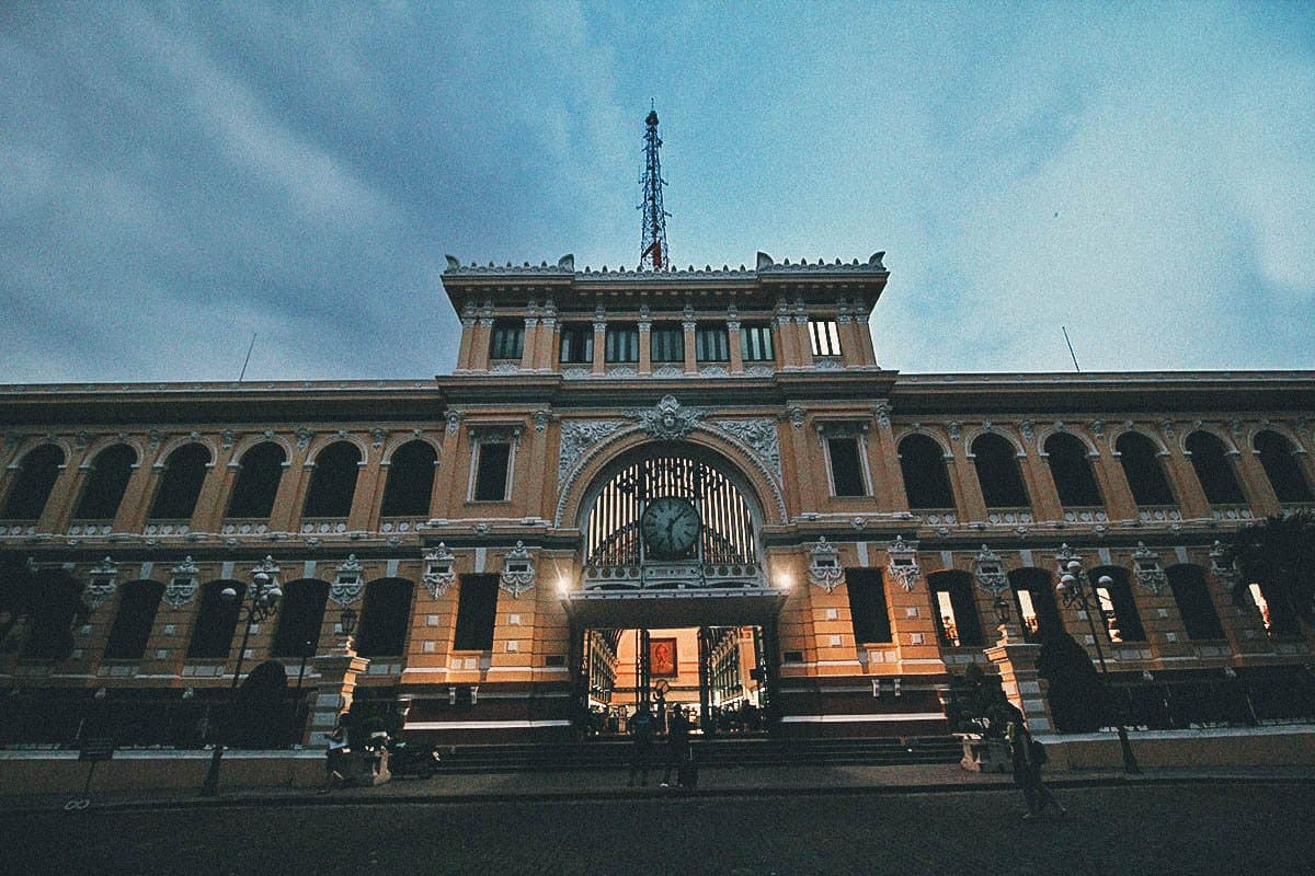 Saigon Post Office, Ho Chi Minh City, Vietnam