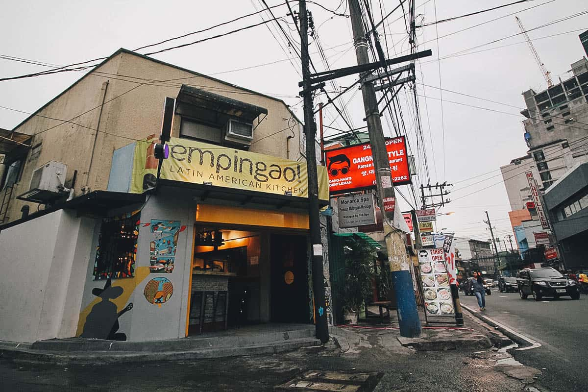 Poblacion Food Crawl, Makati, Philippines