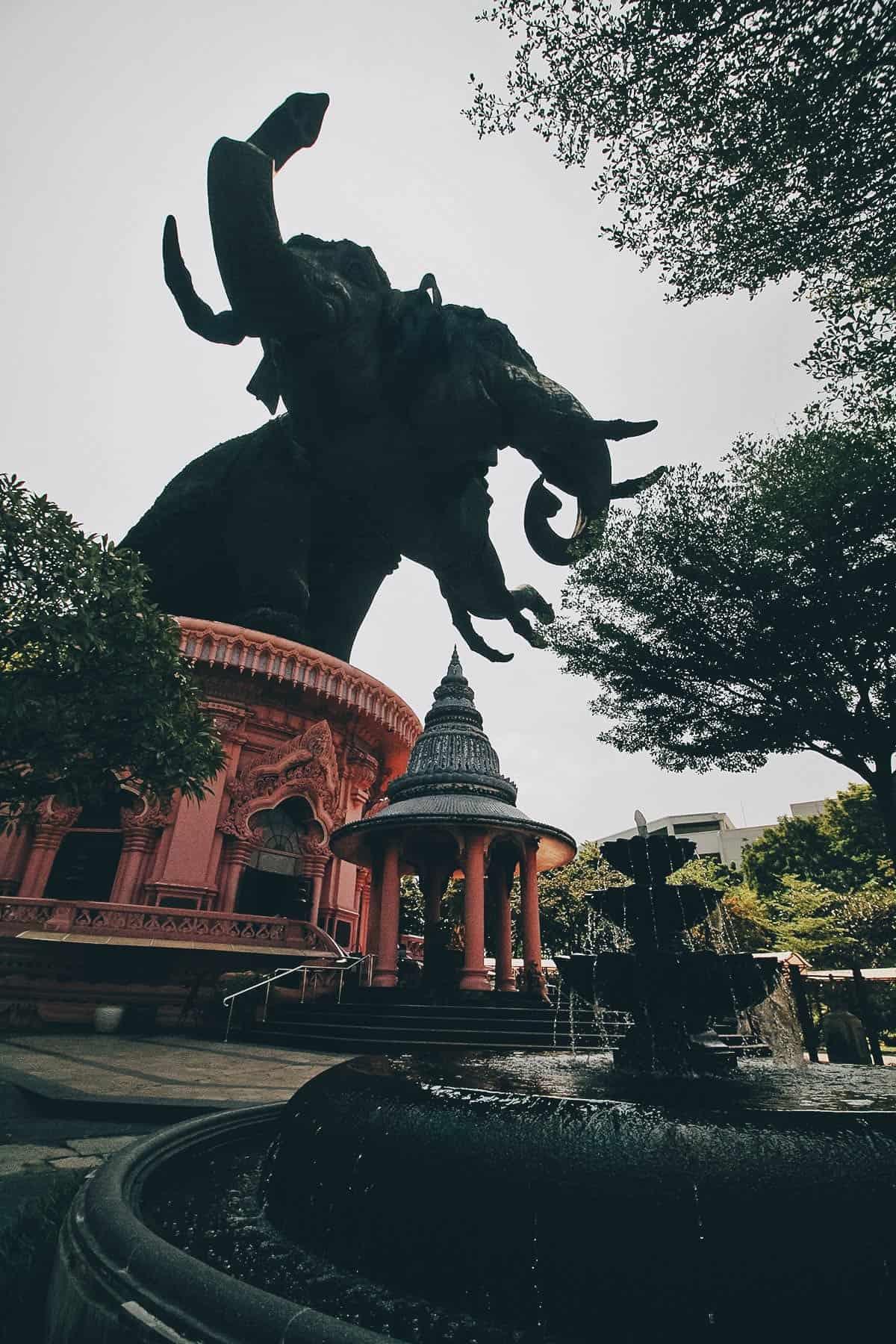 Erawan Museum in Bangkok, Thailand