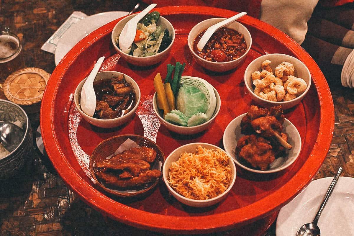 Enjoy a Traditional Lanna Khantoke Dinner & Show at Old Chiang Mai Cultural Center