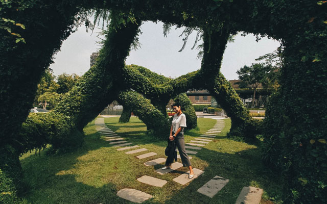 Explore Calligraphy Greenway, a Playground for Art & Design in Taichung, Taiwan