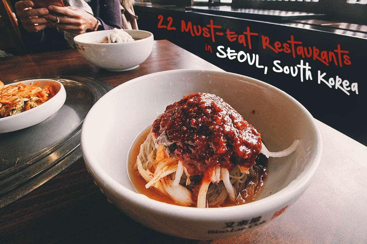 Seoul Food Guide: 22 Must-Eat Restaurants in Seoul, South Korea