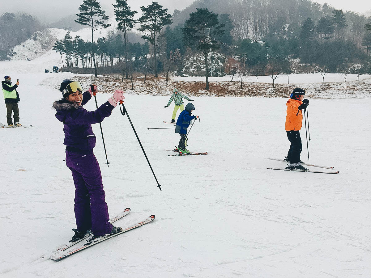 Oak Valley Snow Park: Where to Go Skiing Near Seoul, South Korea