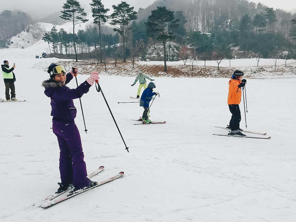 Oak Valley Snow Park: Where to Go Skiing Near Seoul, South Korea