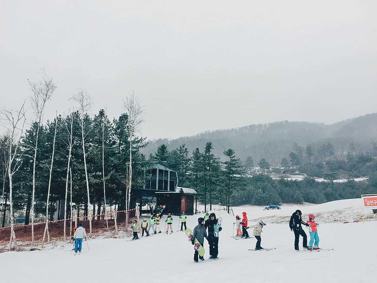 Oak Valley Snow Park, Wonju, South Korea