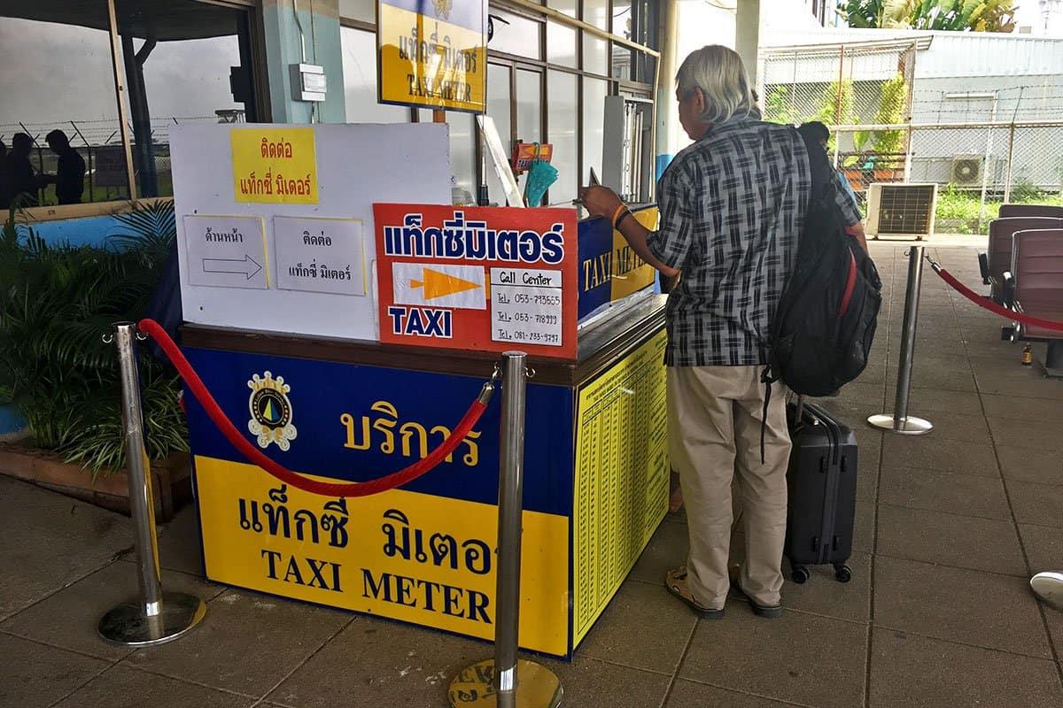 Airport Taxi, Chiang Rai, Thailand