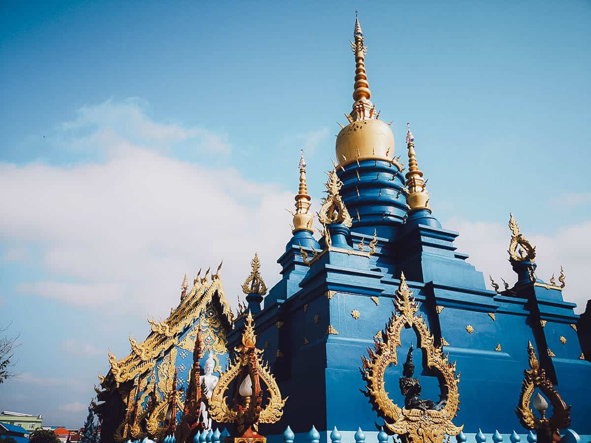 The Blue Temple in Chiang Rai, Thailand