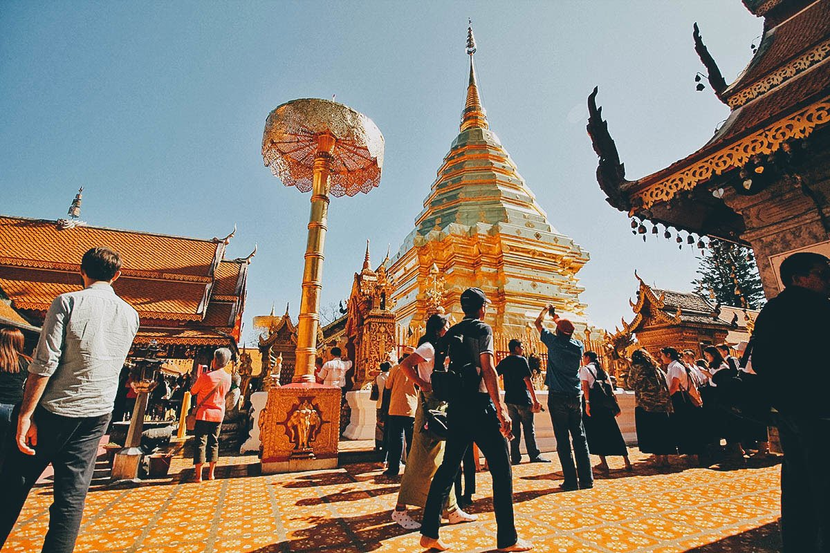 Wat Phra That Doi Suthep:  My Favorite Temple in Chiang Mai, Thailand