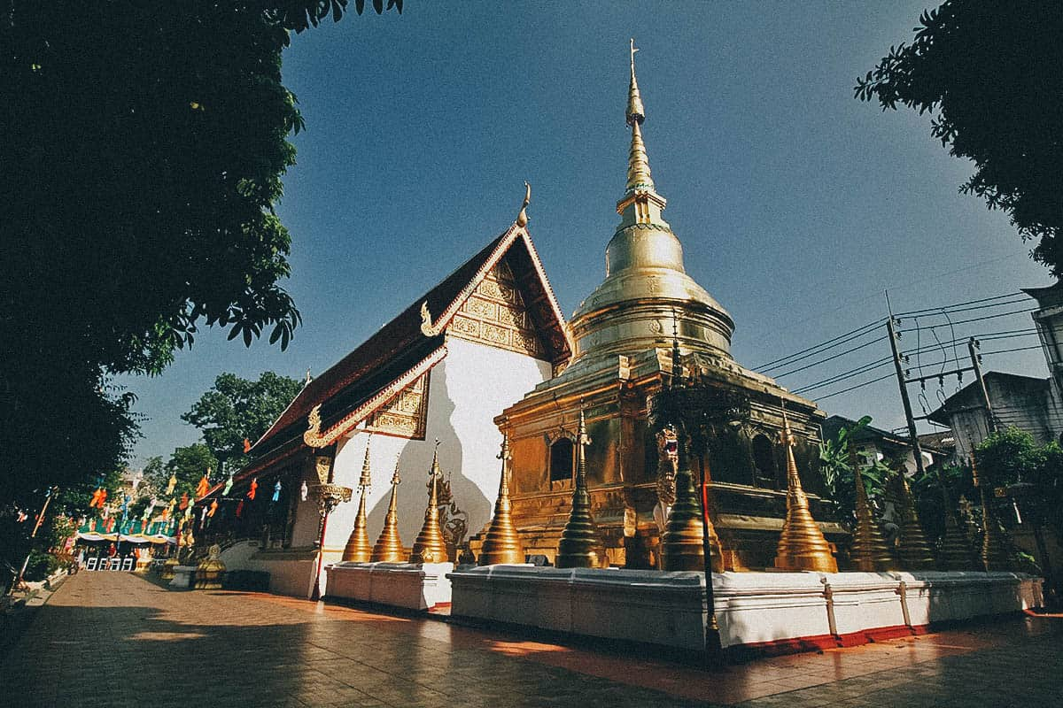 Wat Phra Sing, Chiang Rai, Thailand