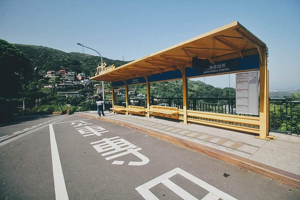 Bus 1062, Jiufen, Taiwan