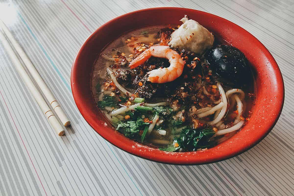 Danzai noodles in Taian, Taiwan