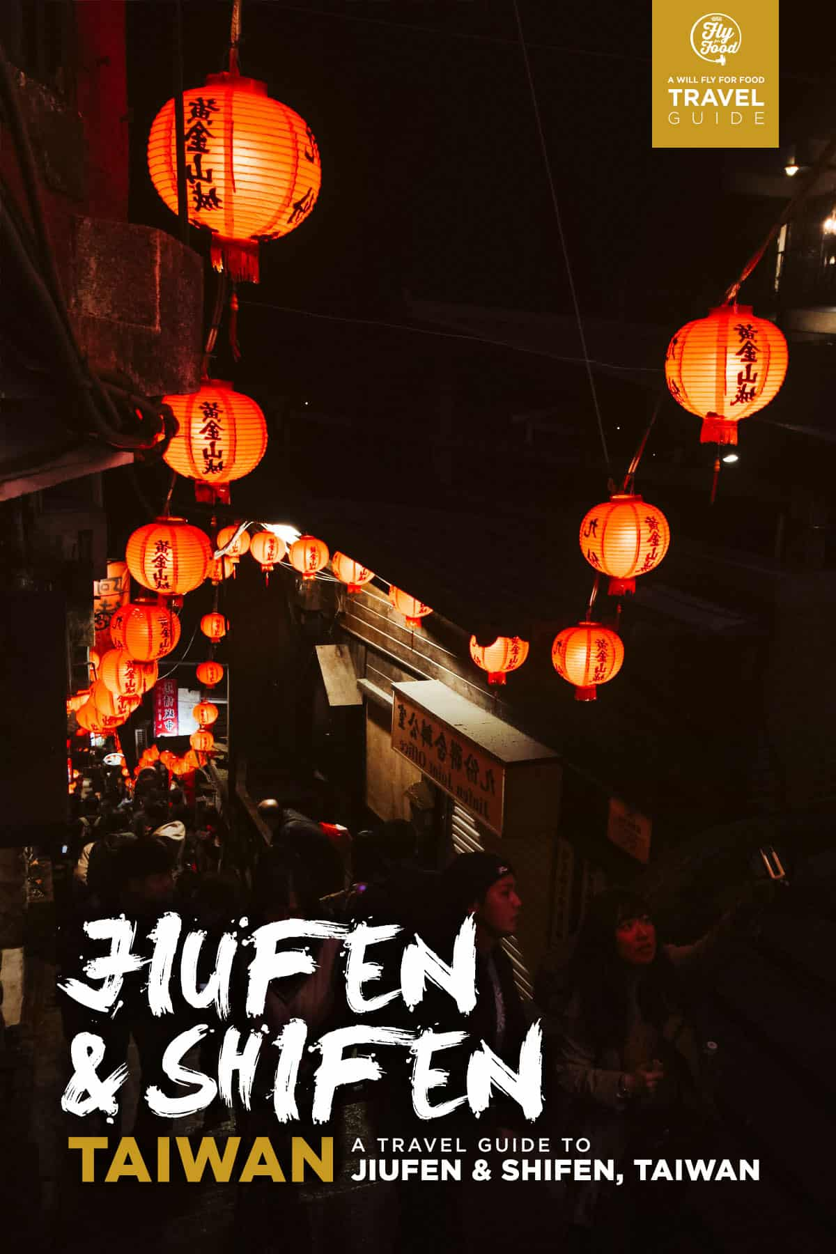 Jiufen at night