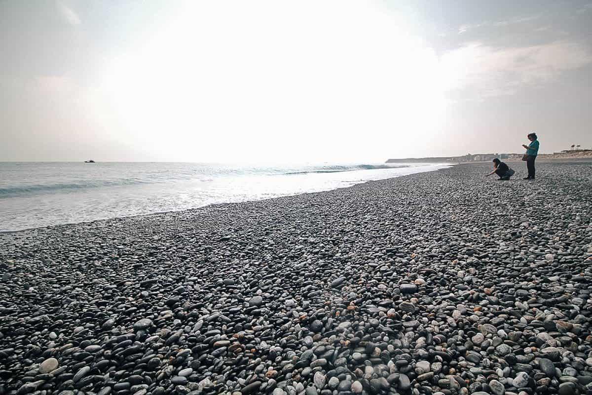 Qixingtan Beach, Hualien County, Taiwan