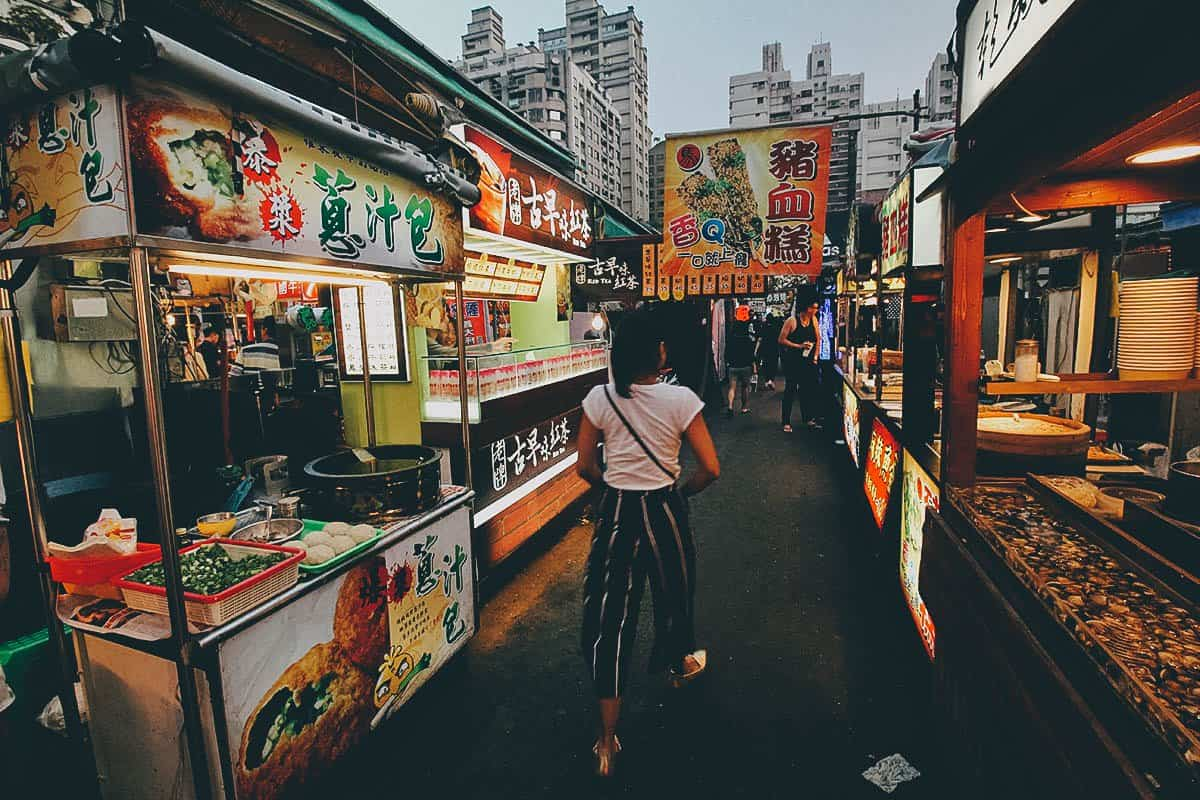 12 Night Markets and Food Streets to Visit in Taiwan