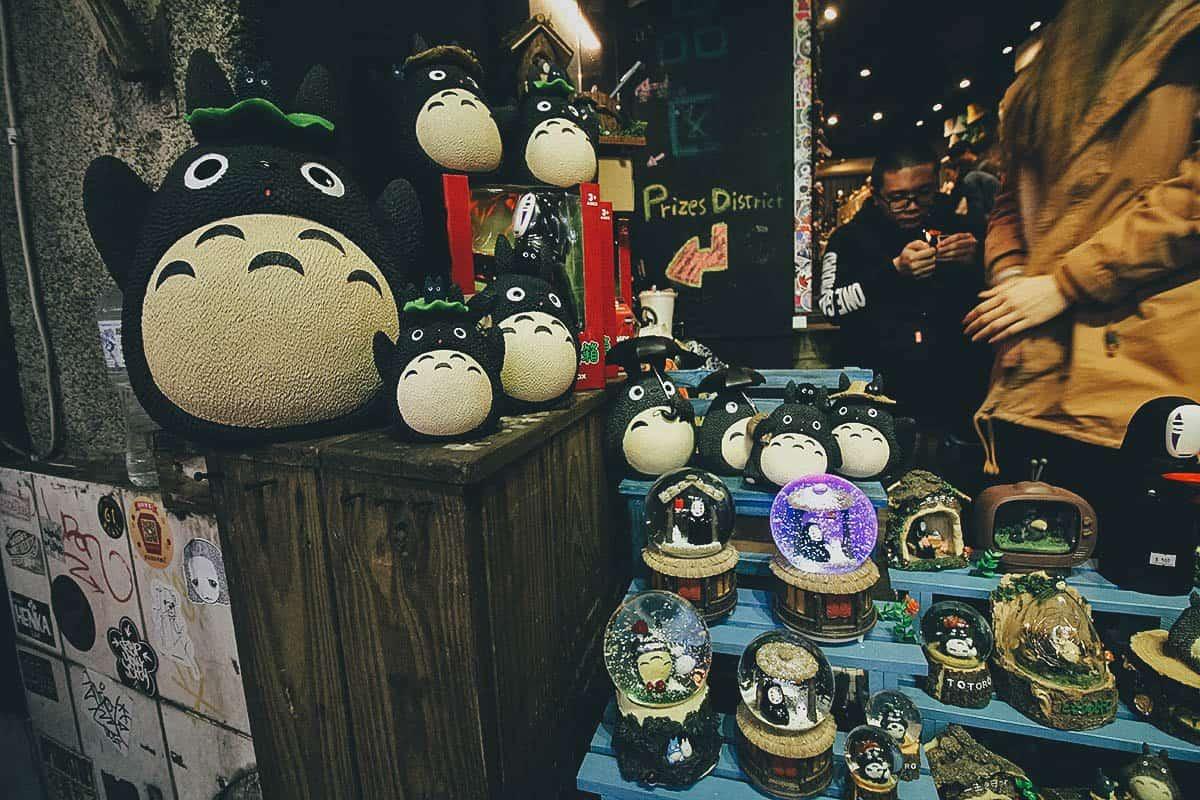 Studio Ghibli Merchandise, Jiufen, Taiwan