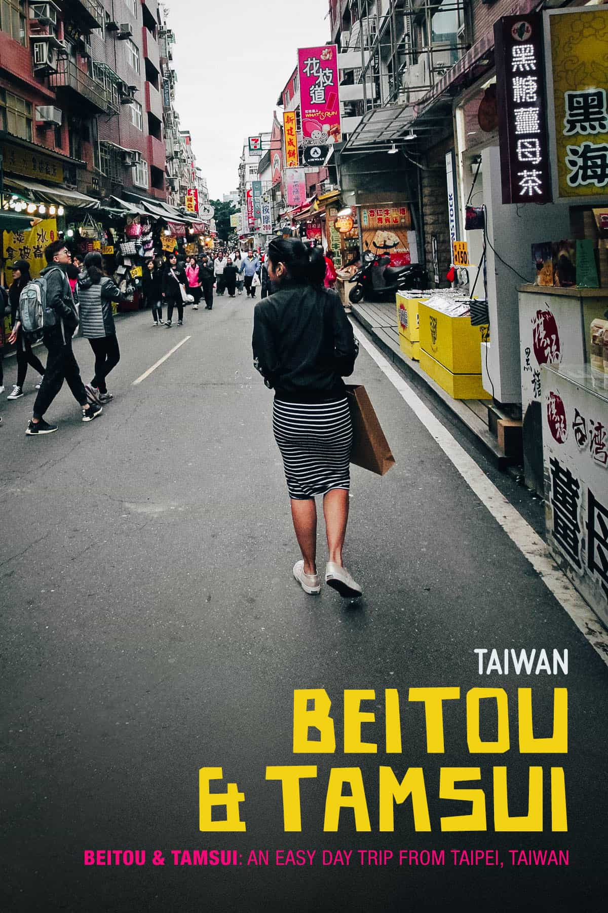 Exploring Tamsui, Taiwan