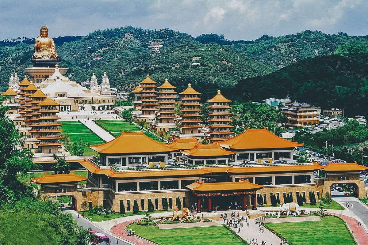 Fo Guang Shan Monastery, Kaohsiung, Taiwan