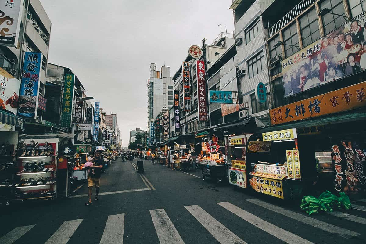 Liouhe Tourist Night Market, Kaohsiung, Taiwan