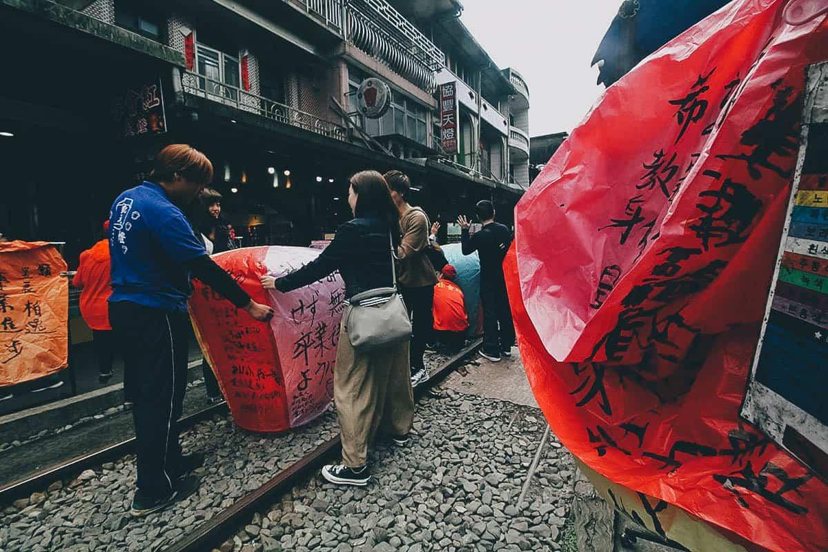 Shifen Old Street, New Taipei City, Taiwan
