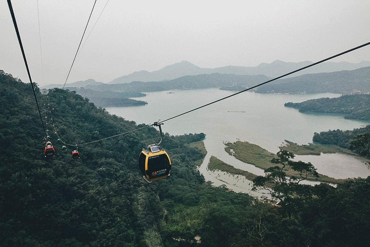 Explore Sun Moon Lake on a Day Trip from Taichung, Taiwan
