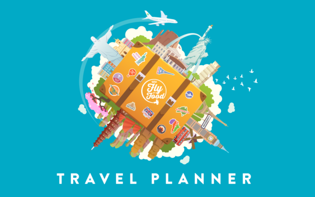 Plan Your Trip with the Will Fly for Food Travel Planner!