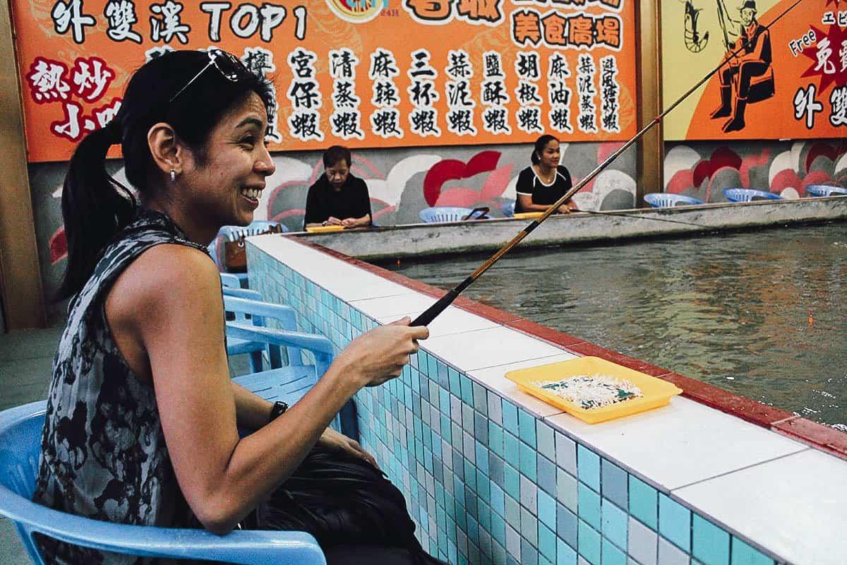 Urban Shrimping, Taipei, Taiwan