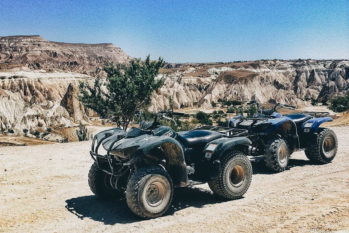 ATV riding, Cappadocia, Turkey