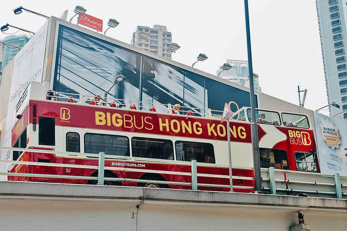 Big Bus Tour, Hong Kong