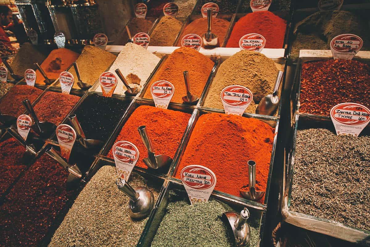 Egyptian Spice Bazaar, Istanbul, Turkey