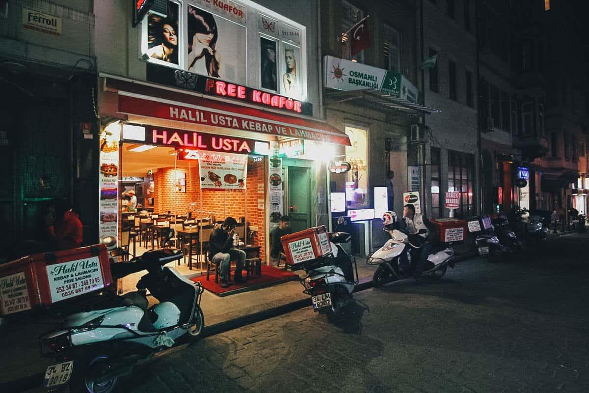 Halil Usta, Istanbul, Turkey