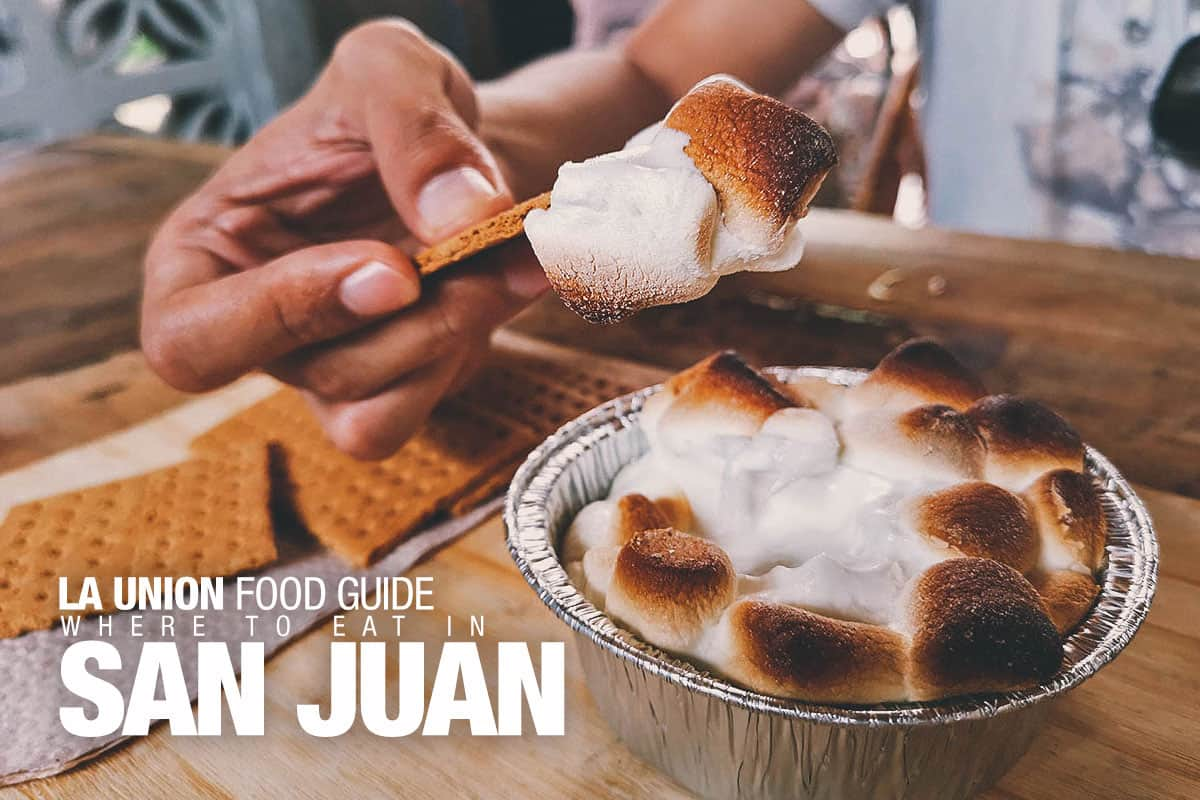 La Union Food Guide: Where to Eat in San Juan