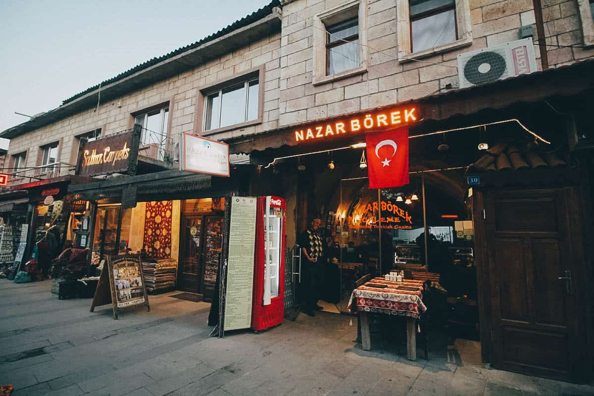 Nazar Börek Cafe, Cappadocia, Turkey