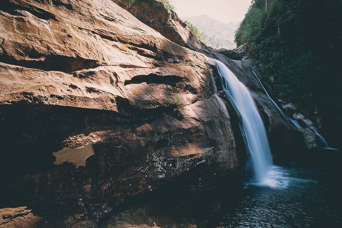 Tangadan Falls, La Union, Philippines
